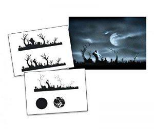 UMR-Design AS-009 Cementary Pochoir pour aérographe Step by Step Size M de la marque UMR-Design image 0 produit