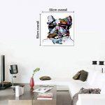 UQ Impression sur toile 1 partie Tableau Poster Grand Format 50x50 Chien cool Prêt à accrocher de la marque UNIQUEBELLA image 4 produit