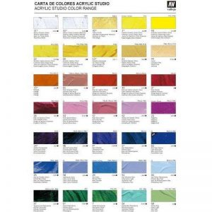 Vallejo Acrylic Studio, peinture acrylique, 200ml, taupe van Dick, n ° 49 de la marque Vallejo image 0 produit