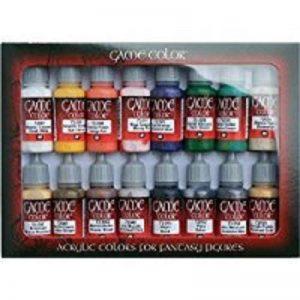 Vallejo Coffret de 16pots de peinture acrylique Couleurs assorties de la marque Vallejo image 0 produit