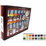 Vallejo Coffret de 16pots de peinture acrylique Couleurs assorties de la marque Vallejo image 1 produit