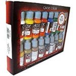 Vallejo Coffret de 16pots de peinture acrylique Couleurs assorties de la marque Vallejo image 3 produit