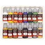 Vallejo Coffret de 16pots de peinture acrylique Couleurs assorties de la marque Vallejo image 4 produit