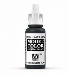 Vallejo Peinture acrylique pour modélisme 17 ml noir mat de la marque Vallejo image 0 produit