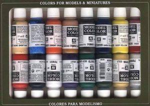 Vallejo val899Peinture Model Color napoléoniennes Peinture acrylique–Couleurs assorties (Lot de 16) de la marque Vallejo image 0 produit
