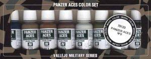 Vallejo val899Peinture Model Color Panzer Aces No 2peinture acrylique Set–Couleurs assorties (Lot de 8) de la marque Vallejo image 0 produit