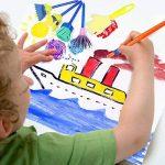 Vamei 30 pcs Enfants Éponge Peinture Pinceaux Outils de Dessin pour Enfants Peinture Précoce DIY Arts Artisanat de la marque VAMEI image 1 produit