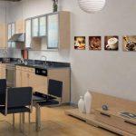 Visario 6603 Jeu de 4 tableaux sur toile Café 4 x 30 x 30cm de la marque Visario image 2 produit