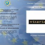 Visario 6603 Jeu de 4 tableaux sur toile Café 4 x 30 x 30cm de la marque Visario image 3 produit
