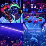 Viugreum® Blacklight UV LED, 9W 30 LEDs Jeux de Lumière LED Lampe Ultra-Violet pour Affiches Maquillage Peinture Corporelle Fluo Deco Effect Soirée Party Club Bar de la marque Viugreum image 4 produit
