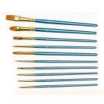 Vococal® 9Pcs Pinceaux de Peinture Artiste Aquarelle Peinture Corporelle Brosse de la marque Vococal image 1 produit