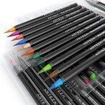 Vrais Stylos Pinceaux Arteza - 48 couleurs - Effet Aquarelle - (Lot de 48) de la marque ARTEZA® image 2 produit