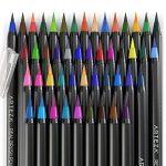 Vrais Stylos Pinceaux Arteza - 48 couleurs - Effet Aquarelle - (Lot de 48) de la marque ARTEZA® image 4 produit