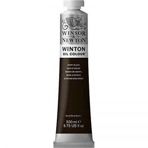 W&N HUILE WINTON 200ML 331 NOIR DIVOIRE de la marque Winsor & Newton image 0 produit