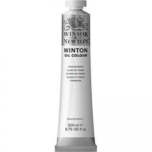 W&N HUILE WINTON 200ML 644 BLANC DE TITANE de la marque Winsor & Newton image 0 produit