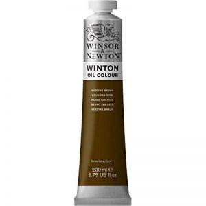 W&N HUILE WINTON 200ML 676 BRUN VAN DYCK de la marque Winsor-Newton image 0 produit