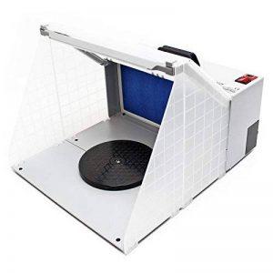 WilTec Airbrush Cabine d'aspiration illuminé pour Airbrush 12 Volt 4m³/min HS-E420DCLK de la marque WilTec image 0 produit