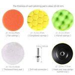 WINOMO 19Pcs 3-inch éponge tampons pour polir avec M10 foret pour polisseuse de voiture de la marque WINOMO image 3 produit