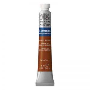 Winsor & Newton Cotman Aquarelle tubes couleur 8ml Sienne Brûlée de la marque Winsor & Newton image 0 produit