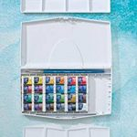 Winsor & Newton Cotman Boîte d'aquarelle Peinture fine avec 24 1/2 Godets/Pinceau de la marque Winsor & Newton image 1 produit