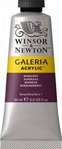 Winsor & Newton Galeria Acrylic Medium d'empâtement, bordeaux, 60ml - Acrylfarbe de la marque Winsor & Newton image 0 produit