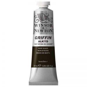 Winsor & Newton Griffin Alkyd Peinture,Noir Ivoire de la marque Winsor & Newton image 0 produit