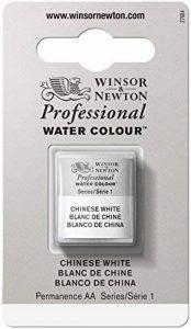 WINSOR & NEWTON PROFESSIONAL WATER COLOUR 1/2 GODET 150 BLANC DE CHINE de la marque Winsor & Newton image 0 produit
