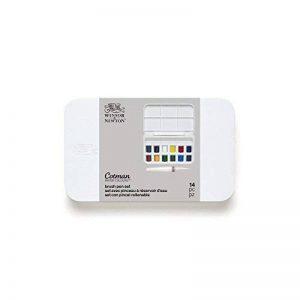 Winsor & Newton - set aquarelle Cotman avec pinceau à réservoir d'eau de la marque Winsor & Newton image 0 produit