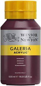 Winsor Newton Série 1 &Flacon de 500 ml de peinture acrylique Galeria avec capuchon-Bordeaux de la marque Winsor & Newton image 0 produit