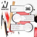 WINTEX papier calque (100 feuilles) DIN A4 100 g/m2   avec 2 ans de garantie de satisfaction   feuilles de papier transparent de la marque WINTEX image 1 produit