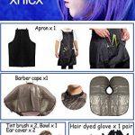 xnicx Peigne Pinceau Brosse Bol Pour Coloration Cheveux Teinture Décolorante Coiffure Coiffure Couleur Kit de la marque xnicx image 2 produit