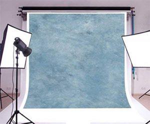 YongFoto 1,5x1,5m Vinyle Toile de Fond Gris foncé Bleu Papier aquarelle Texture Fond Décors Studio Photo Banner Enfant Video Fete Photobooth Photographie Accesorios de la marque YongFoto image 0 produit