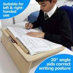 Zieler - Easywriter - Planche d'écriture inclinée ergonomique pour une meilleure postureBois de haute qualité - Finition laquée - Angle de 20 °Convient aux droitiers et aux gauchersDesign compact - Taille A3 de la marque Zieler image 1 produit