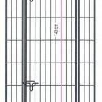 Zolux Chenil métal pour Chien 9,60 m² 4 x 24 x 18 m de la marque Zolux image 1 produit
